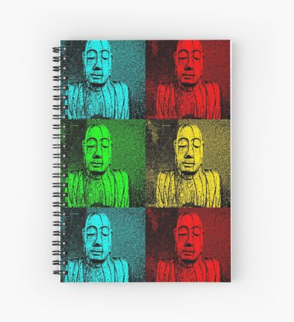 Karma Squared = 4 x the luck Spiral Notebook