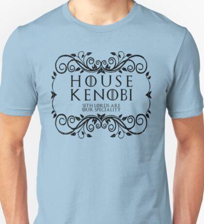 House Kenobi (black text) T-Shirt