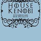 House Kenobi (black text) by houseorgana