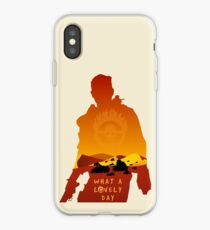 Mad Max Minimalist iPhone Case