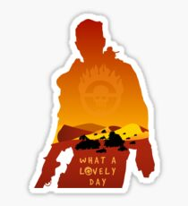 Mad Max Minimalist Sticker