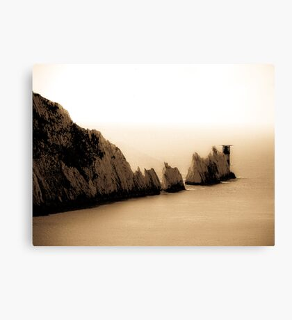 The other side of the Needles!  Canvas Print