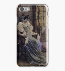 Bring up the Curtain iPhone Case/Skin