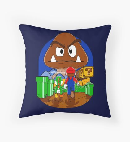 Mushroom never changes. Throw Pillow