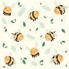 Viele Bienen von raediocloud