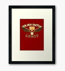 Golden Snitch - Lucky 150 pts. Framed Print