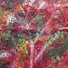 Red tissue flowers by RainbowAngel