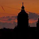 Sunset in Amsterdam by zarkhoc