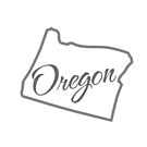 Oregon State | Simple Design in Gray with Modern Typography von PraiseQuotes