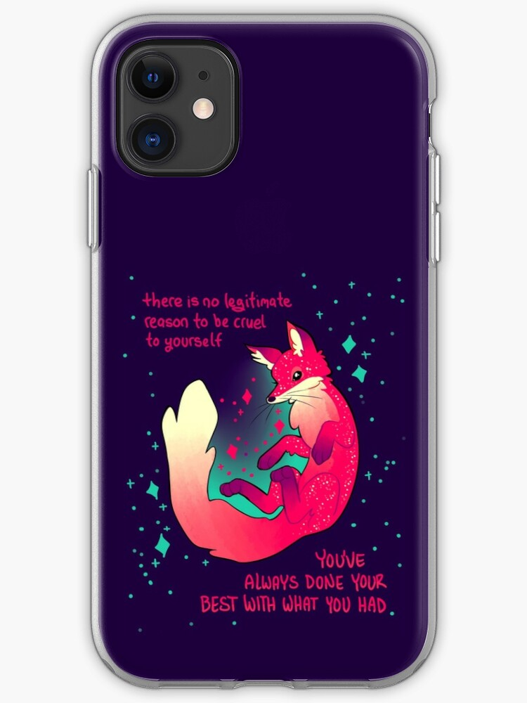 Space Fox iphone case