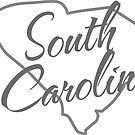 South Carolina State | Simple Design in Gray with Modern Typography von PraiseQuotes