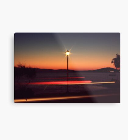 give my love to a shooting star Metal Print