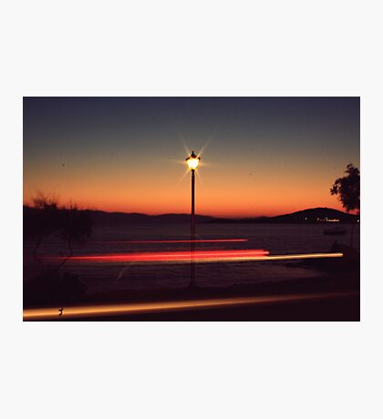 give my love to a shooting star Photographic Print