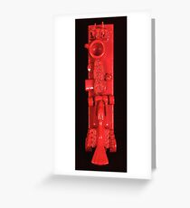 Seeing Red: Racing Greeting Card