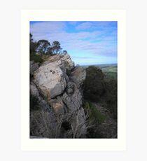 Mt Barker Summit Art Print