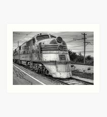 Burlington Nebraska Zephyr EMD E5  Art Print