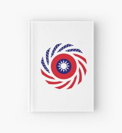 Taiwanese American Multinational Patriot Flag Series Hardcover Journal