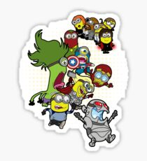 Minvengers Age of Mintron Sticker