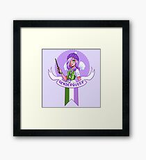 I was sorted into the Genderqueer House Framed Print