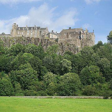 Stirling Castle , Scotland by goldyart