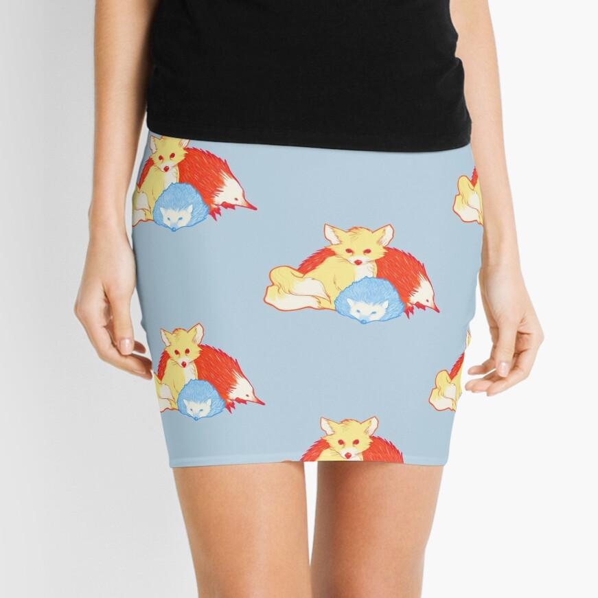 Fast Friends Mini Skirt