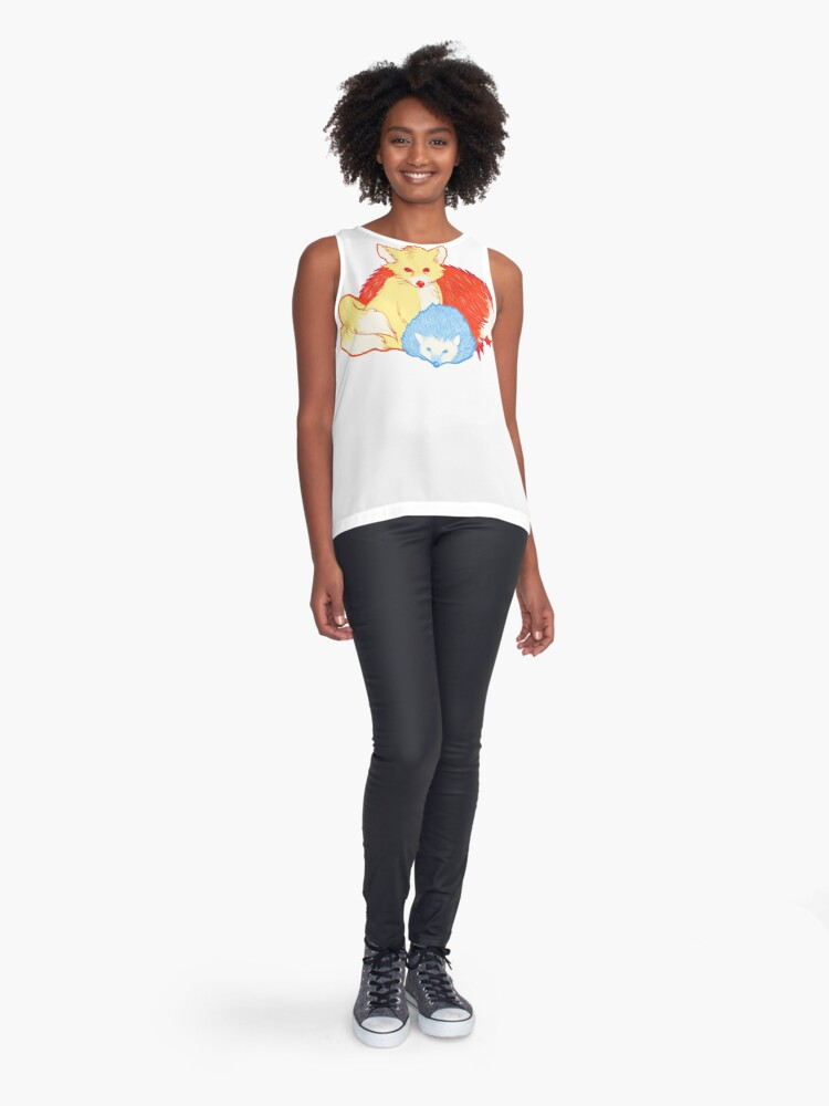 Alternate view of Fast Friends Sleeveless Top