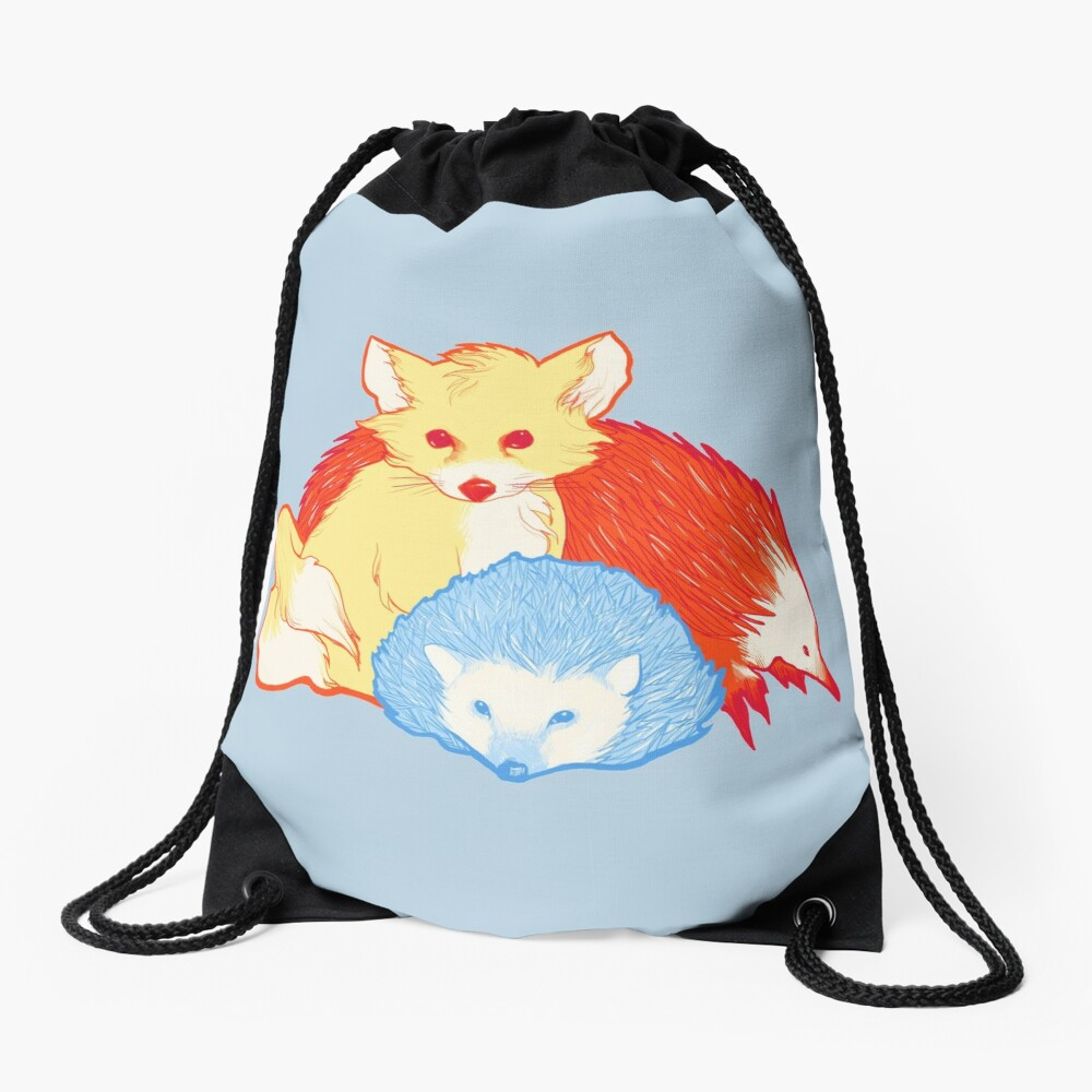 Fast Friends Drawstring Bag
