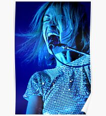 Emily Haines-Metric Poster