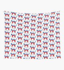 Democrat DemoCAT Cat Lover Liberal 2020 Tapestry
