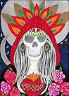 Santa de Muerte by LauriAnnLumby