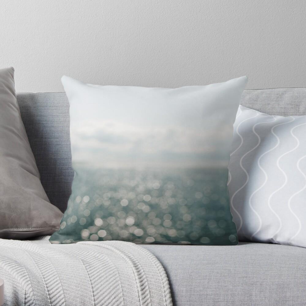 Pamlico Sparkle Throw Pillow