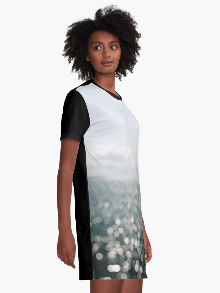 Alternate view of Pamlico Sparkle Graphic T-Shirt Dress
