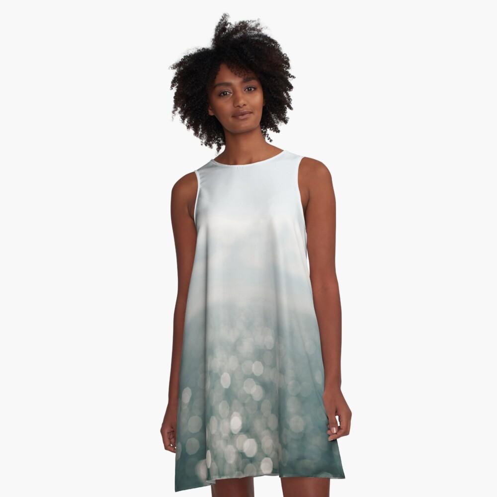 Pamlico Sparkle A-Line Dress