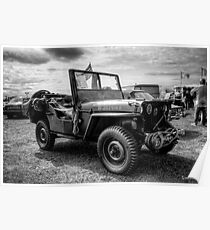 Póster Willys Jeep