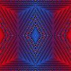 Blue-R Chromatic Quad Triforce by sacrasf