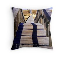 The Lord will give grace.... Throw Pillow