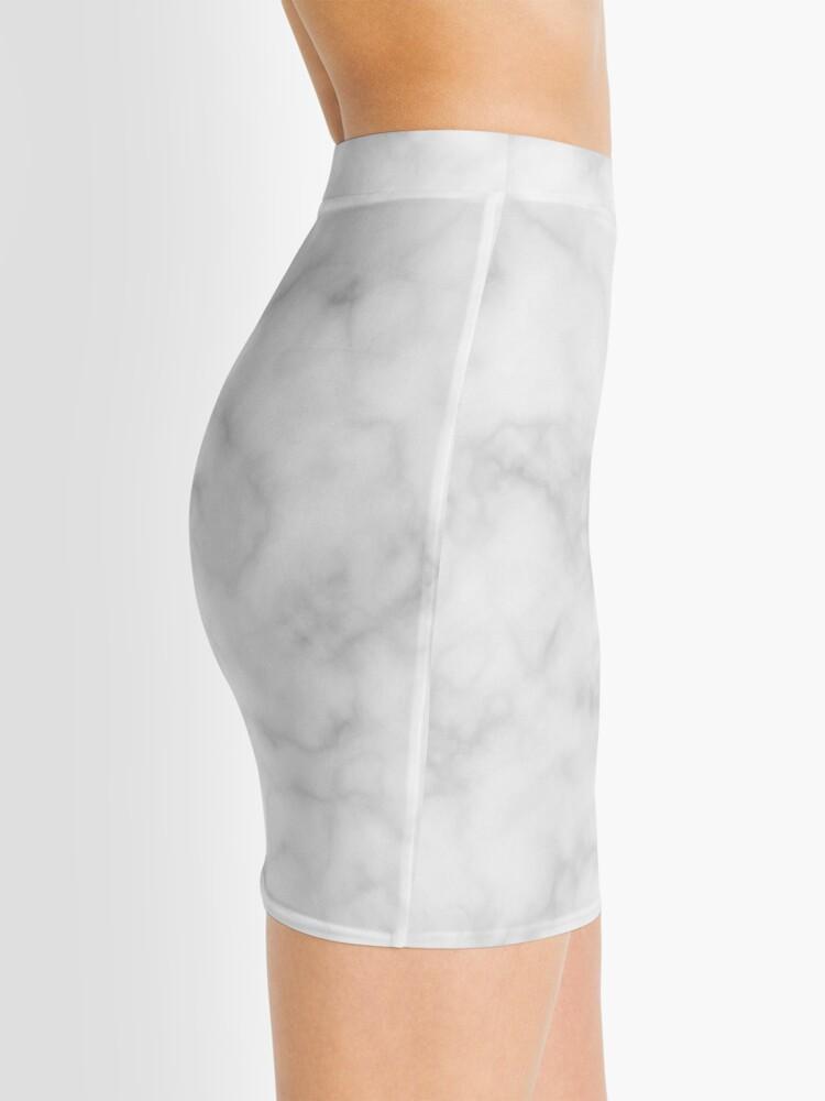 Alternate view of Light Grey Marble Mini Skirt