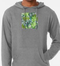 Tropical  Leaves Lightweight Hoodie