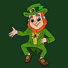 Lucky the Happy Leprechaun  by rmcbuckeye