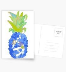 Pineapple Blues Postcards