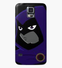 Teen Titans - Serious Raven Hülle & Klebefolie für Samsung Galaxy