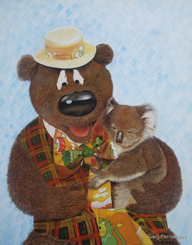 Humphrey B Bear. by Gary Fernandez