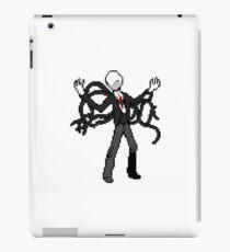 8bit slenderman slender man creepypasta geek funny nerd iPad Case/Skin