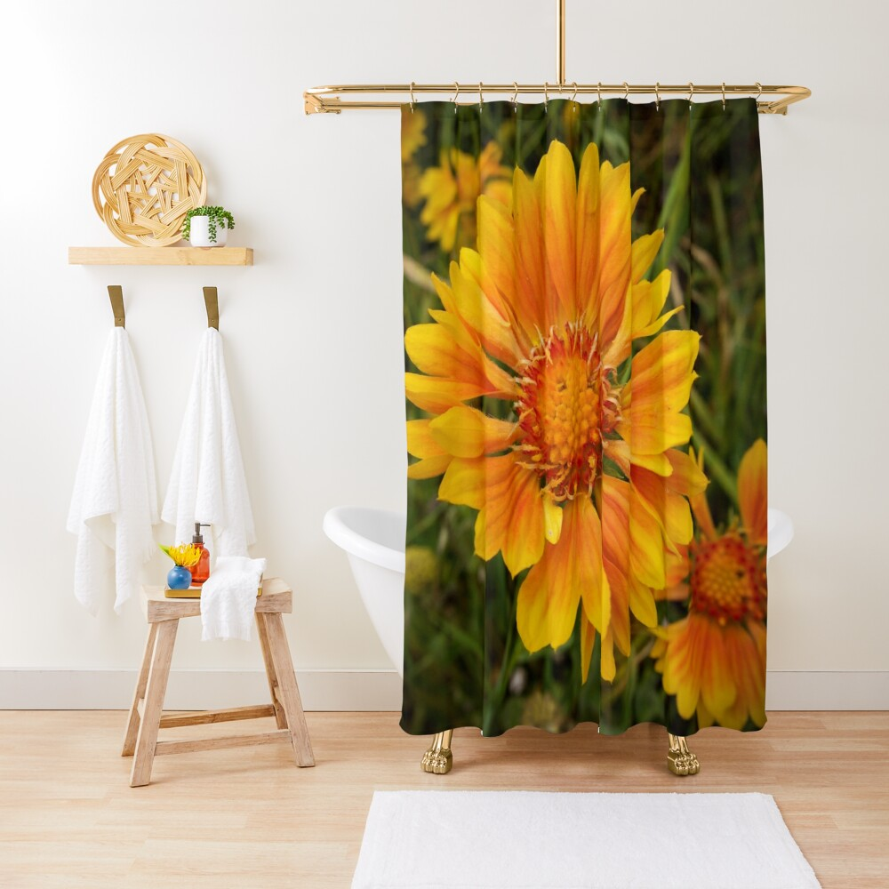 Shining Bright from A Gardener's Notebook Shower Curtain