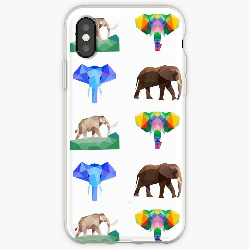 das größte Landsäugetier, der Elefant iPhone-Hülle & Cover