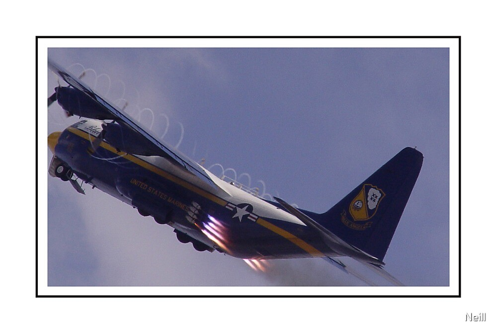 Blue Angels Fat Albert by Neill