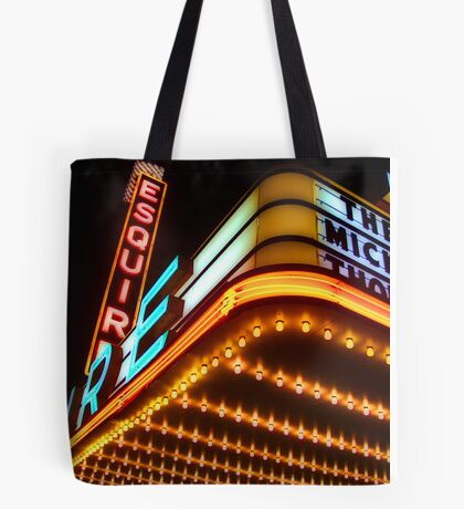 esquire theater, chicago Tote Bag