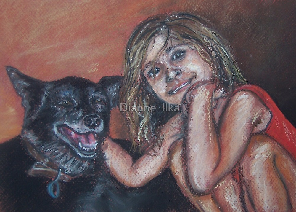 Holly and April by Dianne  Ilka