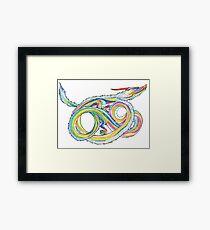 Eucalydragon Framed Print