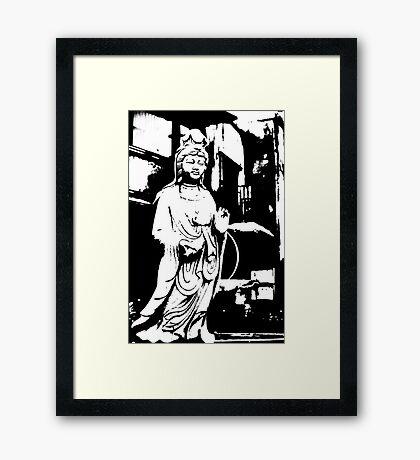 buddha G Framed Print